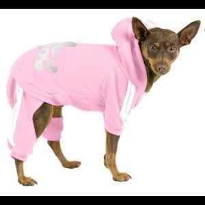 Final: Adidog Dog Tracksuit Sweatsuit